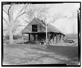West front and south side - William Webb Farm, Commissary, State Highway 3-U.S. highway 19, Sumter, Sumter County, GA HABS GA-20-D-1.tif