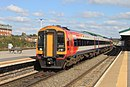 Westbury - SWT 159107+159018 diverted Exeter train.JPG