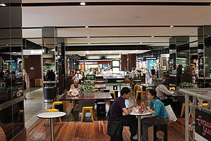 Westfield Belconnen - Middle level food court