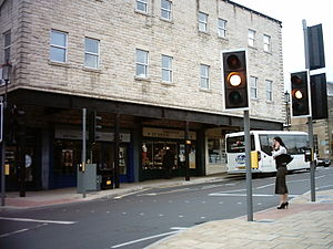 Wetherby bus station - Image: Wetherby Bus Station 1