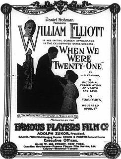William Elliott (actor, born 1879) American actor (1879-1932)