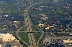 Interstate 270 (Ohio) - Wikipedia on hoover reservoir map, i 70 map, i 495 map, interstate 270 map,