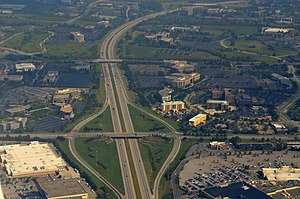 Interstate 270 (Ohio) - Northwest of I-270; Exit 15: Tuttle Crossing Blvd
