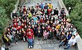 WikiCamp 2015 Armenia (2nt camp) group photo.JPG
