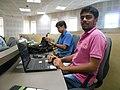 WikidataWK17 - Pinaki Biswas and Mourya Biswas 02.jpg