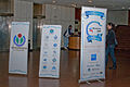Wikimania 2009 - Wiki banners.jpg