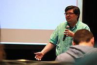 Wikimania 2015 - Joe Sutherland 28.jpg