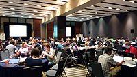 Wikimania Hackathon 2nd day .jpg