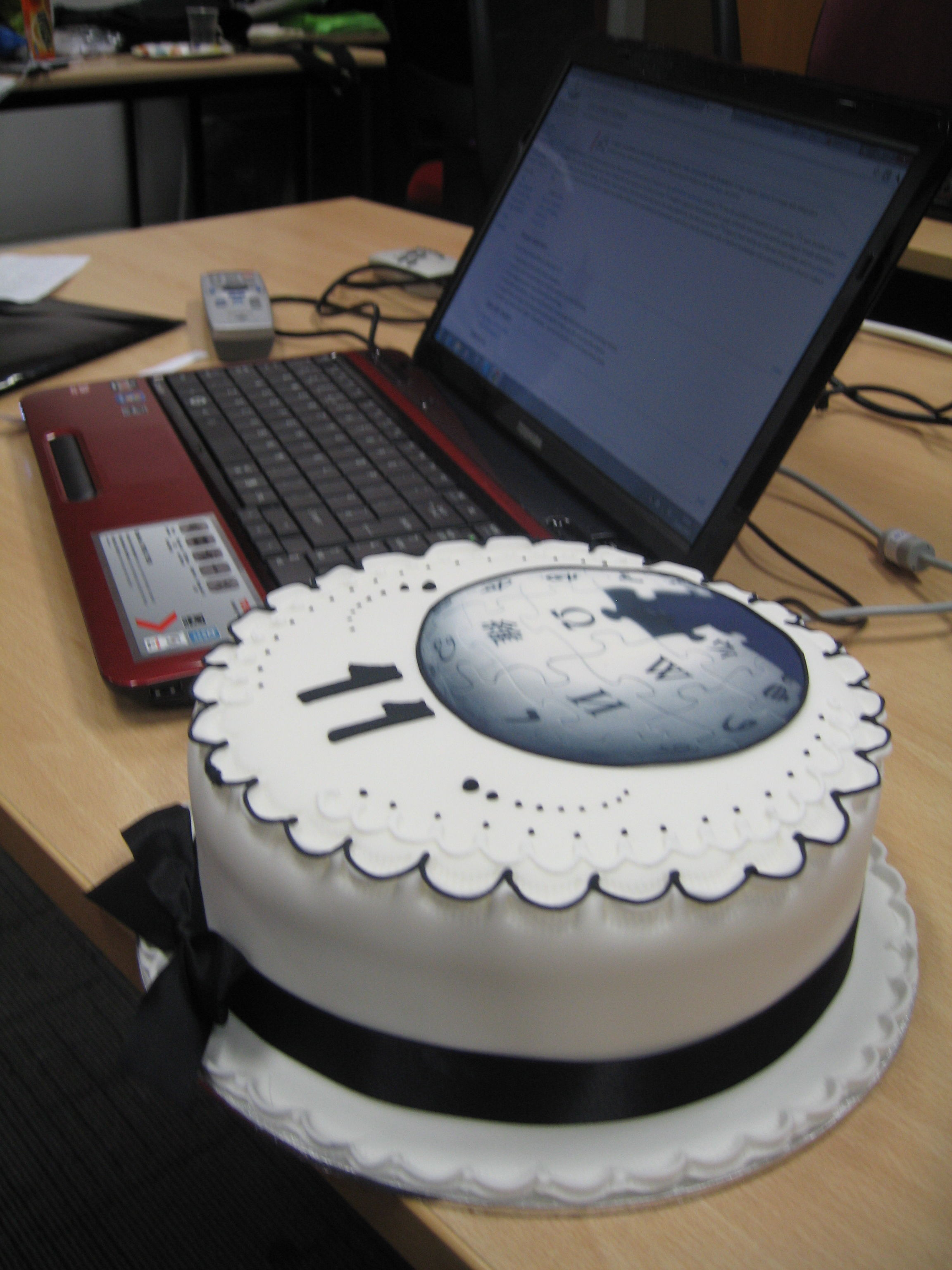 Filewikimedia 11th Birthday Cakeg Wikimedia Commons