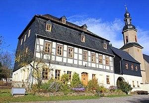 Wildbach. Ortsteil Bad Schlema
