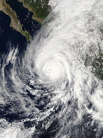 Hurricane Willa - Image: Willa 2018 10 22 1735Z