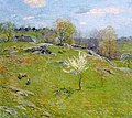 Willard Leroy Metcalf - Unfolding Buds (1909).jpg
