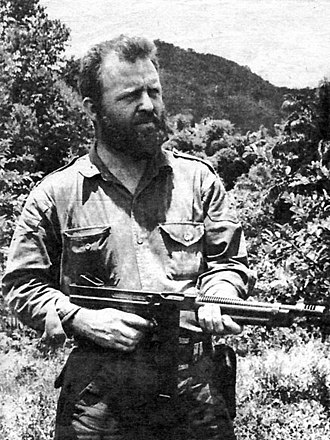 Cuban Revolution - Comandante William Alexander Morgan of the Second National Front of the Escambray