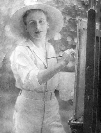 William Bruce Ellis Ranken - Ranken photographed by Baron Adolph de Meyer, c. 1907