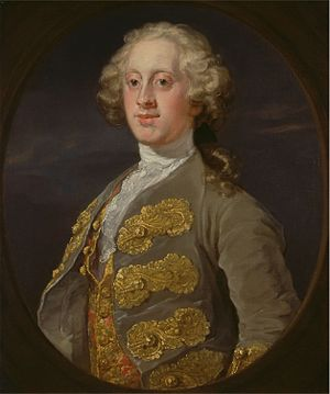 William Cavendish, 4th Duke of Devonshire - The Duke of Devonshire