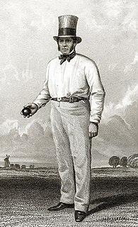 William Clarke (cricketer) English cricketer, born 1798