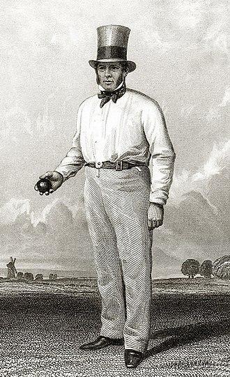 William Clarke (cricketer) - Image: William Clarke cricketer