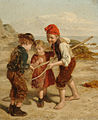 William Hemsley The little shrimpers.jpg
