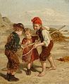 William Hemsley The little shrimpers.jpg