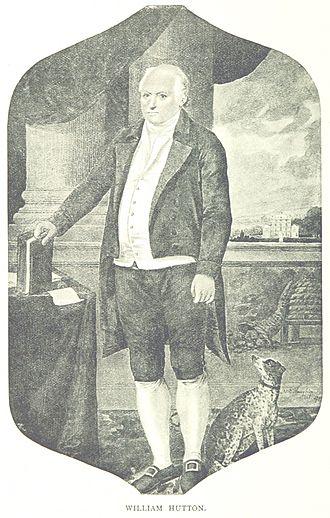 William Hutton (historian) - William Hutton