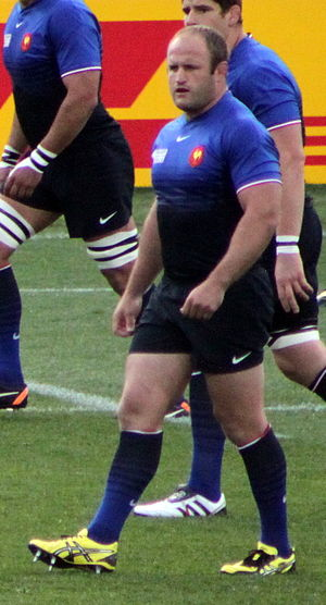 William Servat - Servat during 2011 Rugby World Cup