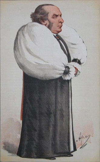 "William Thomson (bishop) - ""The Archbishop of Society"" As depicted by ""Ape"" (Carlo Pellegrini) in Vanity Fair, 24 June 1871"