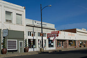 Willows, California - The Willows Hardware store