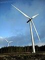 Wind Turbine in Whitelee Windfarm - geograph.org.uk - 1608600.jpg