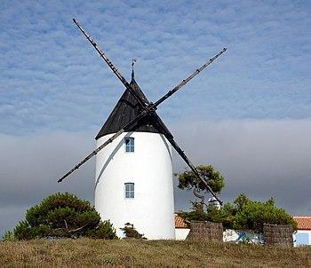 windmill at Île de Noirmoutier