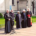 Witnessed the multi-faith press conference on the Westminster attack earlier today. (32781782634).jpg