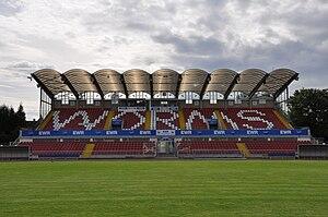 Wormatia-Stadion - Image: Wormatia Stadion Hauptribuene