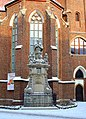 Wrocław, św. Jan Nepomucen przed kościołem pw. św. Macieja (Aw58).JPG