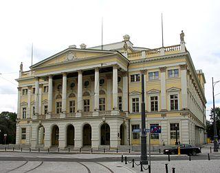 opera house in Wrocław, Poland
