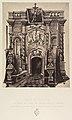 XIVe Station. Le corps de Jésus est deposé dans le tombeau. Monument du St Sépulcre où le corps du Christ a été enseveli. MET DP345547.jpg