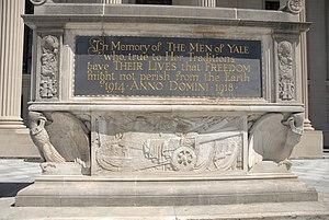 Hewitt Quadrangle - Yale University World War I Cenotaph