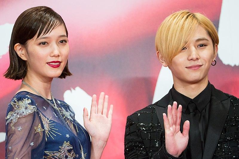"""File:Yamada Ryosuke&Honda Tsubasa from """"FULLMETAL ALCHEMIST"""" from Opening Ceremony of the Tokyo International Film Festival 2017(39305936115).jpg"""