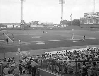 History of the Oakland Athletics - Yankees vs. Athletics at Municipal Stadium