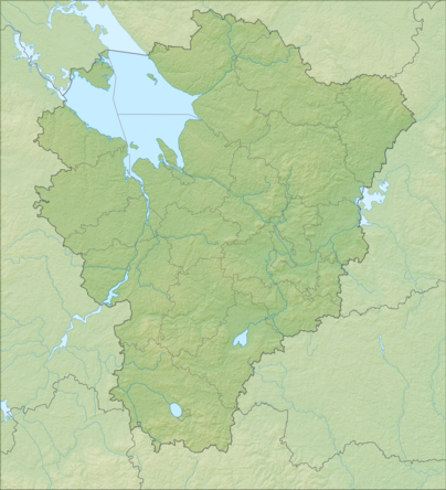 Location map Jaroslavlio sritis
