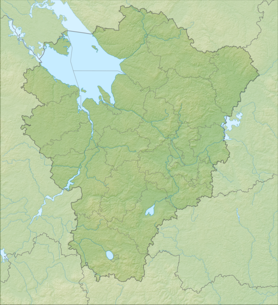 Файл:Yaroslavl Oblast relief location map.png