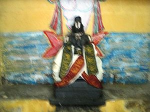 Poigai Azhwar - Image of Poigai Azhwar in the Yathothkari temple