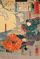 Yoshitsune and Benkei fighting with swords.jpg