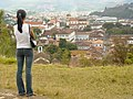 Young Woman Looks over Mariana, Minas Gerais - Brazil.jpg