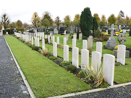 Ypres Town Commonwealth War Graves Commission Cemetery and Extension