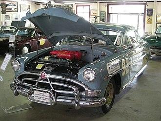 Ypsilanti Automotive Heritage Museum - Image: Ypsilanti Automotive Heritage Museum August 2013 19 (1952 Hudson Hornet stock car)