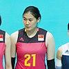 Yunlu Wang China team for Volleyball (cropped).jpg