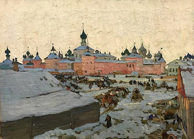 Зима (Ростов Великий)