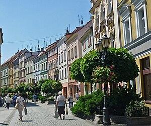 Złotoryja - Basztowa Street