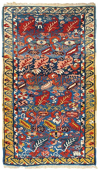 Quba District (Azerbaijan) - Image: Zeikhur Caucasian rug