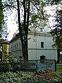 Zespół kościoła p.w. Wniebowzięcia NMP - kościół (fot.3) - Bystrzyca, gmina Wólka, powiat lubelski, woj. lubelskie ArPiCh A-563.JPG