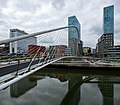Zubizuri footbridge, by Santiago Calatrava, Bilbao, Spain (PPL1-Corrected) julesvernex2.jpg